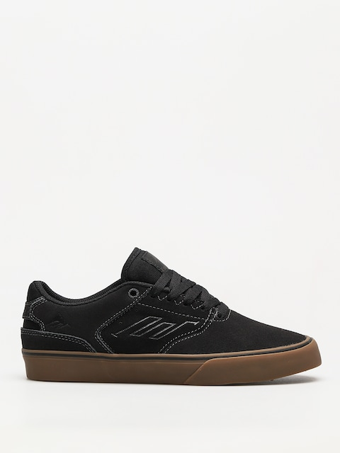 Boty Emerica The Reynolds Low Vulc (dark grey/black/gum)