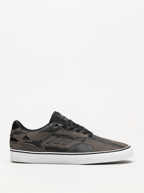 Boty Emerica The Reynolds Low Vulc (grey/grey/black)