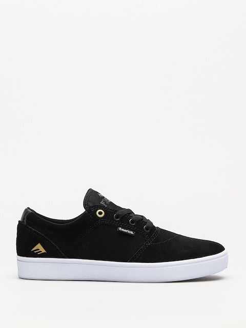 Boty Emerica Figgy Dose (black/white/gold)