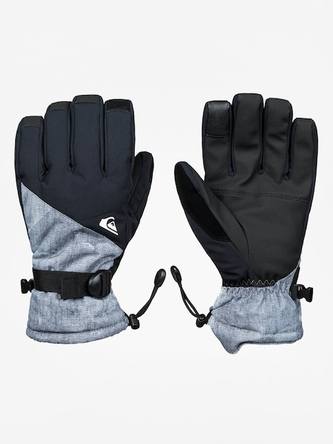 Rukavice Quiksilver Mission Glove (simple texture grey)