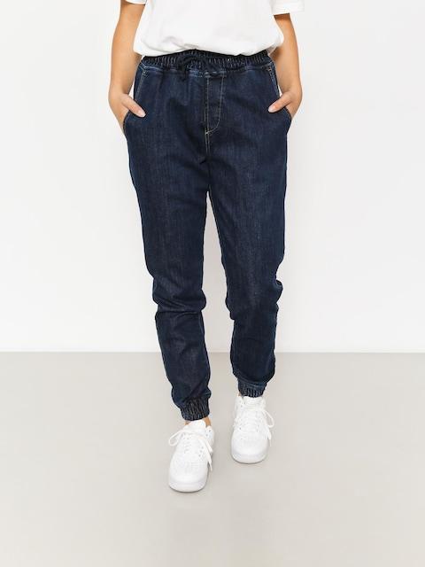 Kalhoty Diamante Wear Rm Jeans Jogger Wmn (navy jeans)