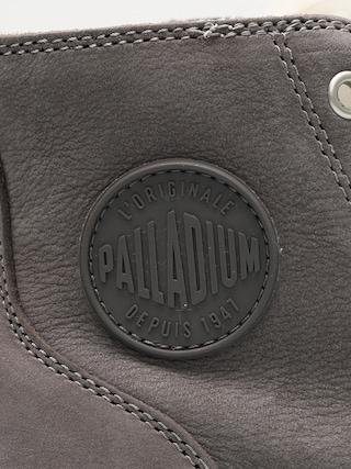 Boty  Palladium Pampa Hi Zip WL Wmn (cloudburst/charcoal gray)