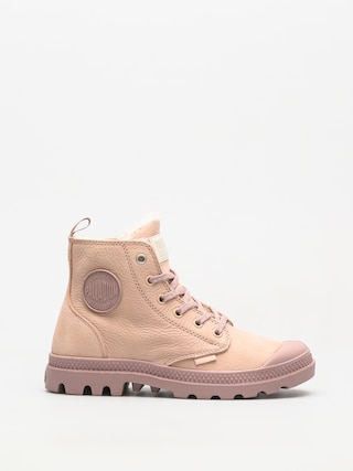 Boty Palladium Pampa Hi Zip WL Wmn (rose dust/fawn)