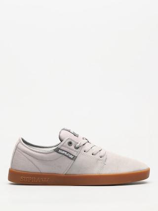 Boty Supra Stacks II (lt grey/grey gum)