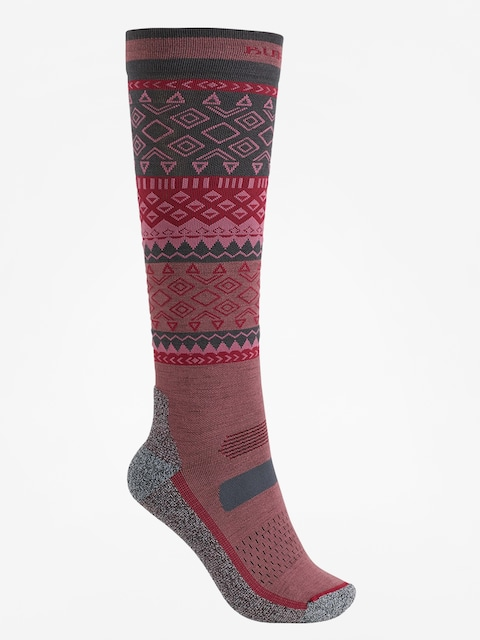 Ponožky Burton Performance Ultralight Wmn (rose brown)