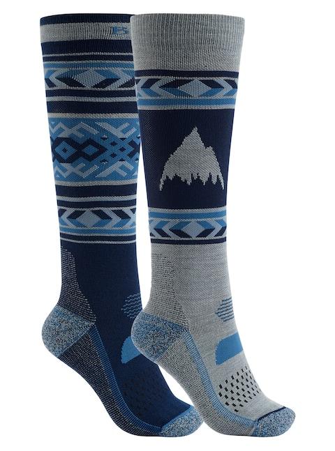 Ponožky Burton Performance Lightweight 2pk Wmn (mood indigo)