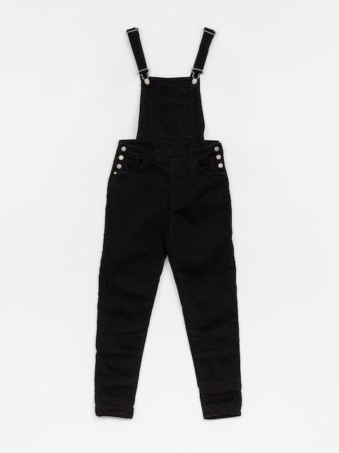 Džínové kalhoty s laclem Roxy Magicalthinking Wmn (black)
