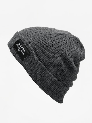 Čepice Supra Icon Intl Beanie (charcoal/blk/wht)