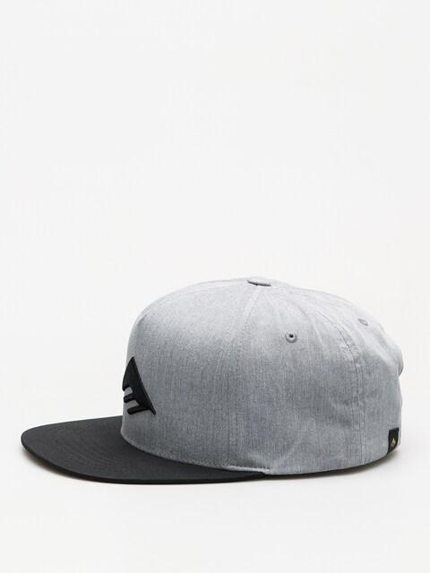 Kšiltovka  Emerica Triangle Snapback ZD (grey/black)