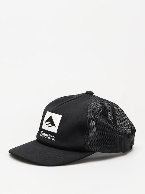 Kšiltovka  Emerica Brand Combo Trucker ZD (black)