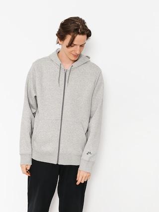 Mikina s kapucí Nike SB Sb Icon Essnl ZHD (dk grey heather/black)