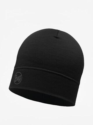 u010cepice Buff Lw Merino Wool (solid black)