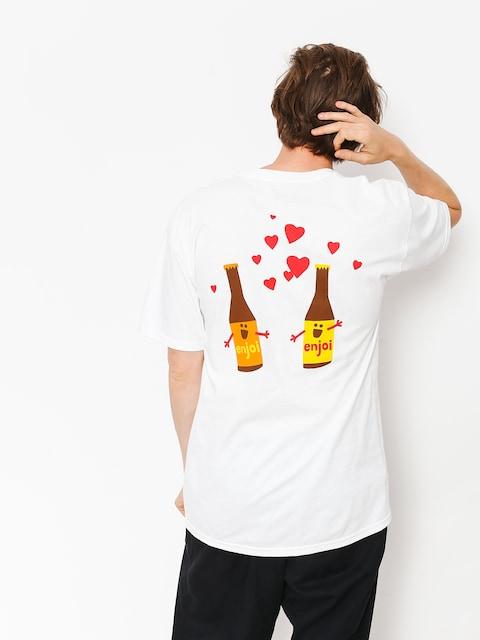 Tričko Enjoi Smitten Beer (white)