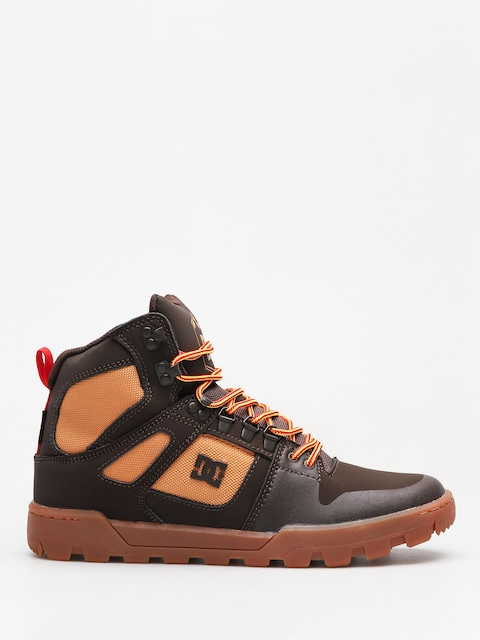 Zimní boty DC Pure High Top Wr Boot (chocolate brown)