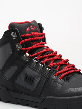 Zimní boty DC Pure High Top Wr Boot (black grey red) 50f692c1dc