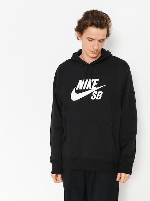 Mikina s kapucí Nike SB Sb Icon HD (black/white)
