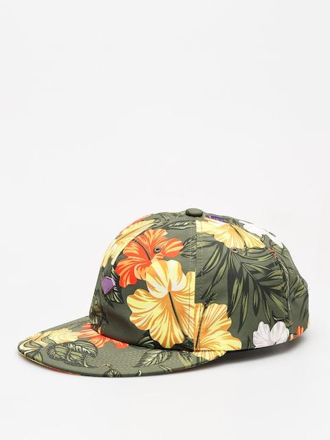 Kšiltovka  Diamond Supply Co. Aloha Floral Unstruc 6 Pan Cli ZD (olive)