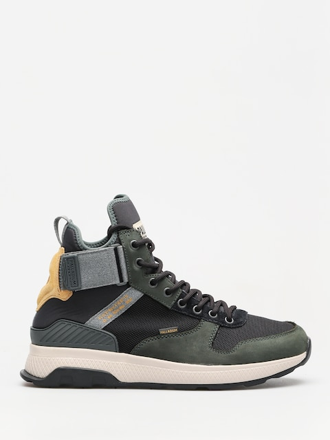 Boty Palladium Ax_Eon Army Runner Mid (urban chic/anthrct/amb gd)