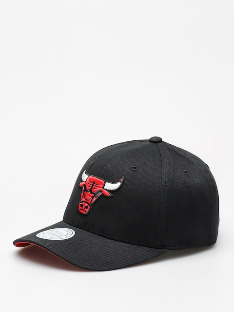 Kšiltovka  Mitchell & Ness Nba Team Logo Low Pro 110  ZD (black/bulls)