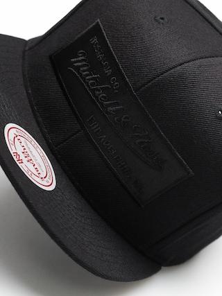 Kšiltovka  Mitchell & Ness Logo Mitchell & Ness ZD (blkack/black)