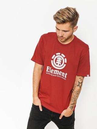 Tričko Element Vertical (brick red)