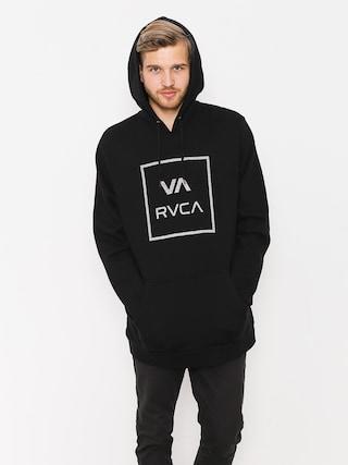 Mikina s kapucí RVCA Va All The Way HD (black)