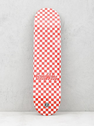 Deska Goodwood Checker (red/white)