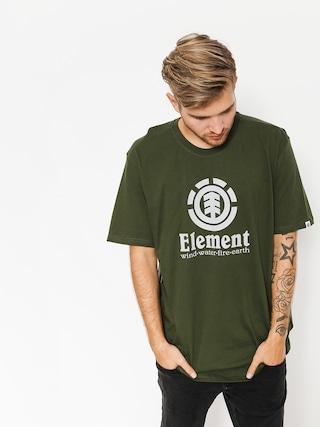 Tričko Element Vertical (olive drab)