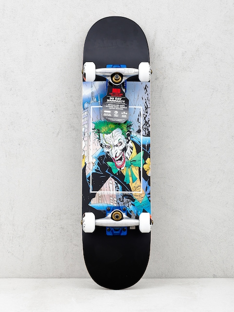 Skateboard Almost Joker Fight Club (black)