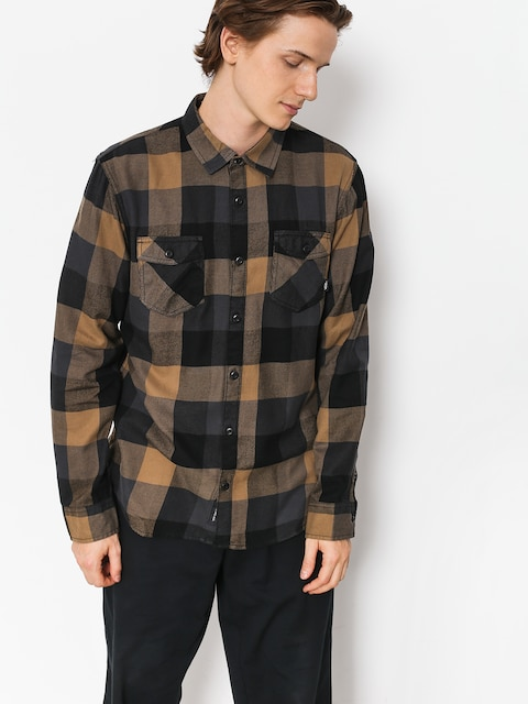 Košile Vans Box Flannel (dirt/black)