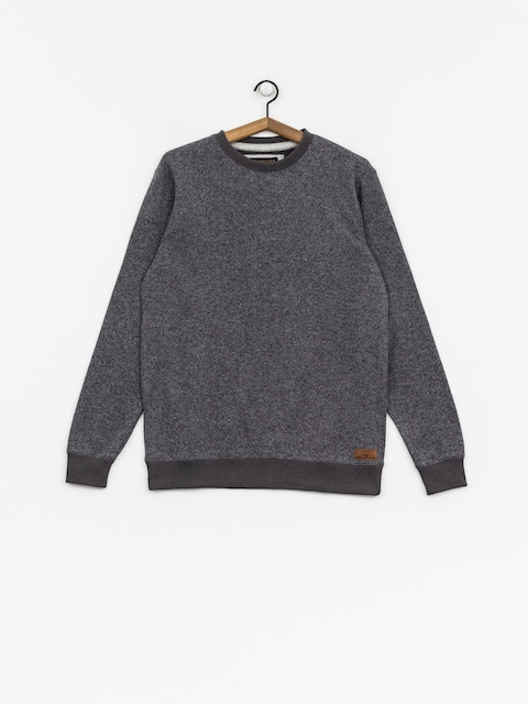 Mikina Quiksilver Keller (dark grey heather)