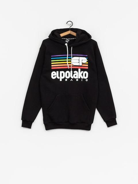 Mikina s kapucí El Polako Rainbow HD