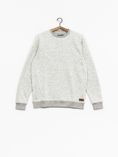 Mikina Quiksilver Keller (light grey heather)