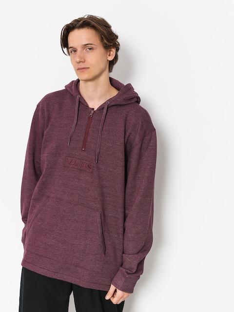 Mikina Vans Easy Box Qtr Zip (port royale heather)