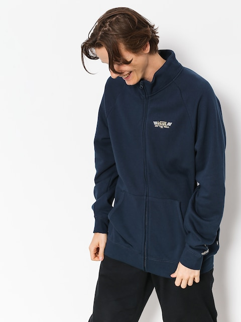 Mikina Vans Crossed Sticks Track Jacket (dress blues)