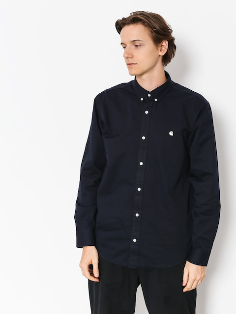 Carhartt WIP Madison Ls (dark navy/wax)