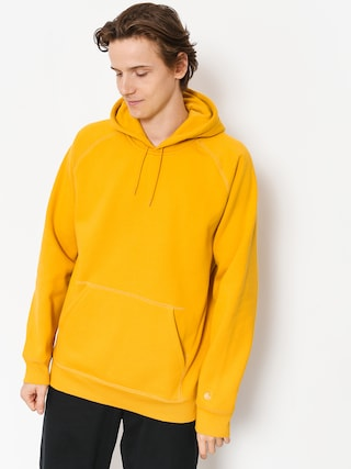 Mikina s kapucí Carhartt WIP Chase HD (quince/gold)