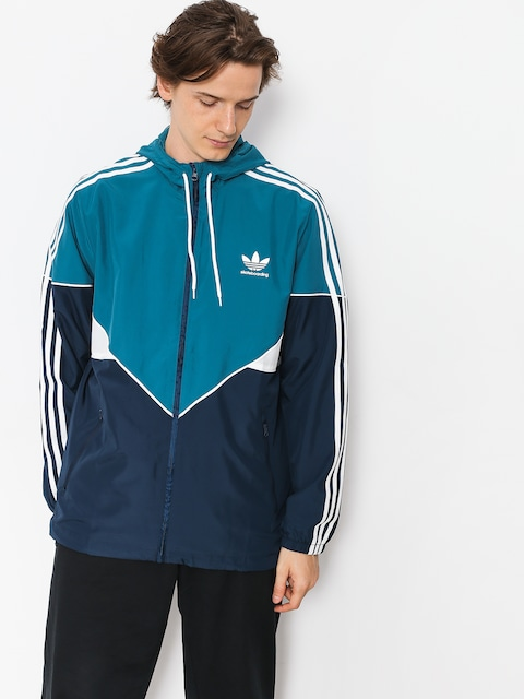 Bunda adidas Premiere Wndbr (real teal s18/collegiate navy/white)