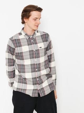 Košile RVCA Ludlow Flannel Ls (silver bleach)