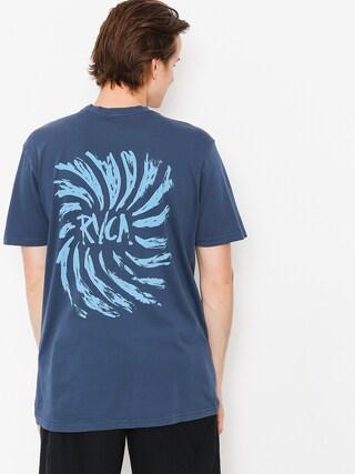 Tričko RVCA Spinner (seattle blue)