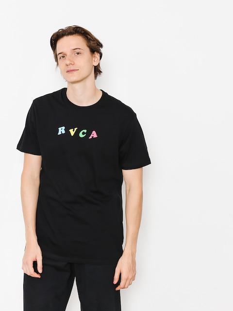Tričko RVCA Crypt Party (black)
