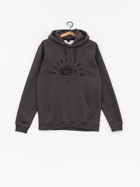 Termomikina  Quiksilver Big Logo Snow (black heather)