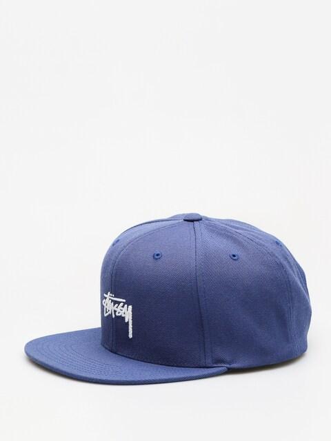 Kšiltovka  Stussy Stock Fa18 Cap ZD (blue)