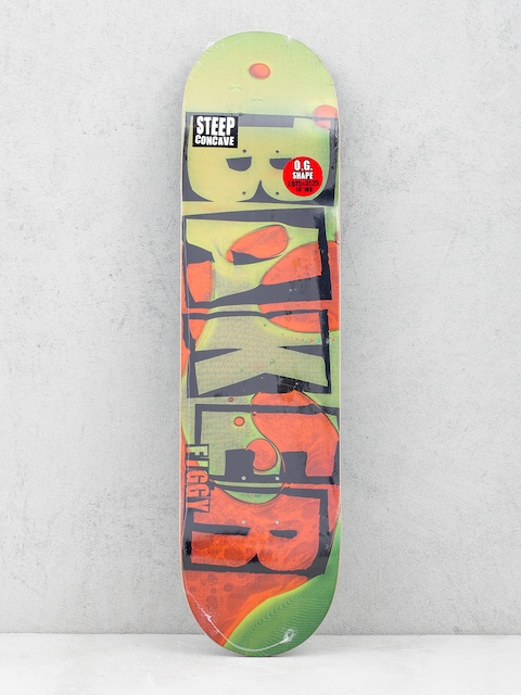 Deska Baker Jf Brand Name Lava (green/orange)