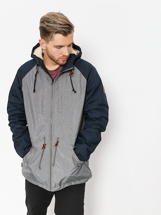 Bunda Element Stark Heather Raglan (mid grey htr)
