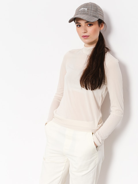 Triko Stussy Anna Tissue Mock Neck Wmn (off white)