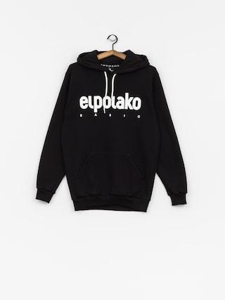 Mikina s kapucí El Polako Classic HD (black)