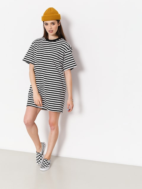Šaty  The Hive Stripe Dress Wmn (black/white)