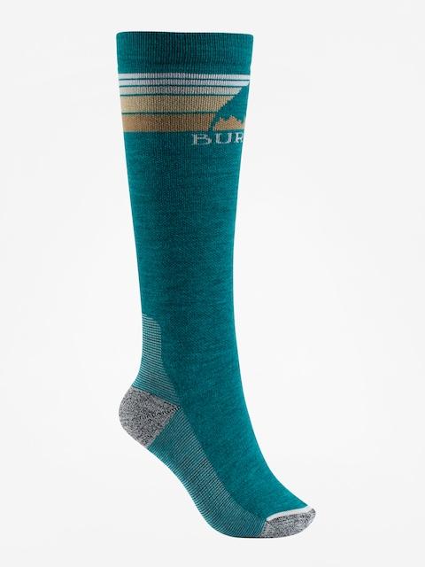 Ponožky Burton Emblem Midweight Wmn (tahoe)