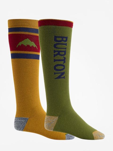 Ponožky Burton Weekend Midweight 2Pk (gldnok/clover)